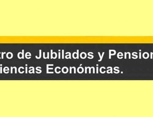 Novedades del Centro de Jubilados y Pensionados de Profesionales de Cs. Es.