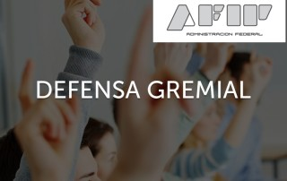 01-defensa gremial - AFIP